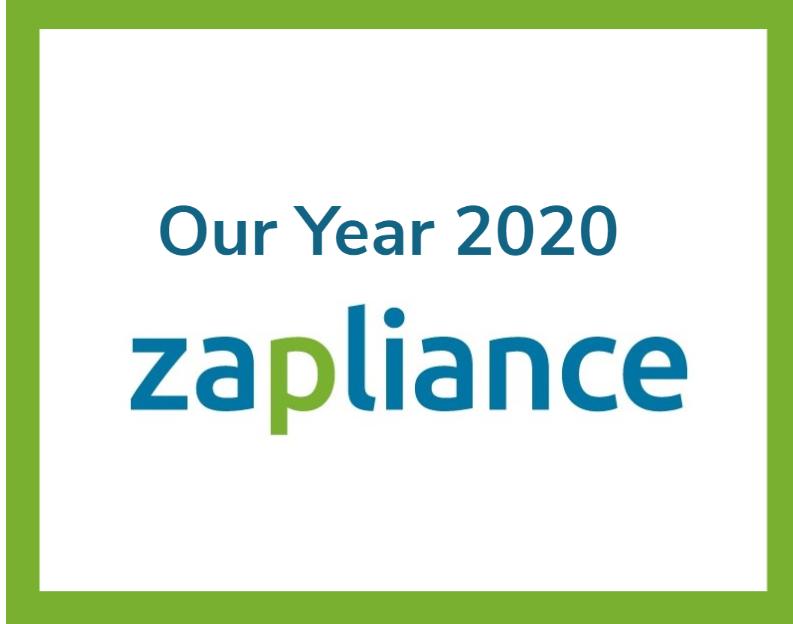 Unser Jahr 2020 bei zapliance