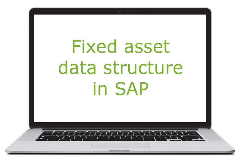 Fixed asset data structure in SAP