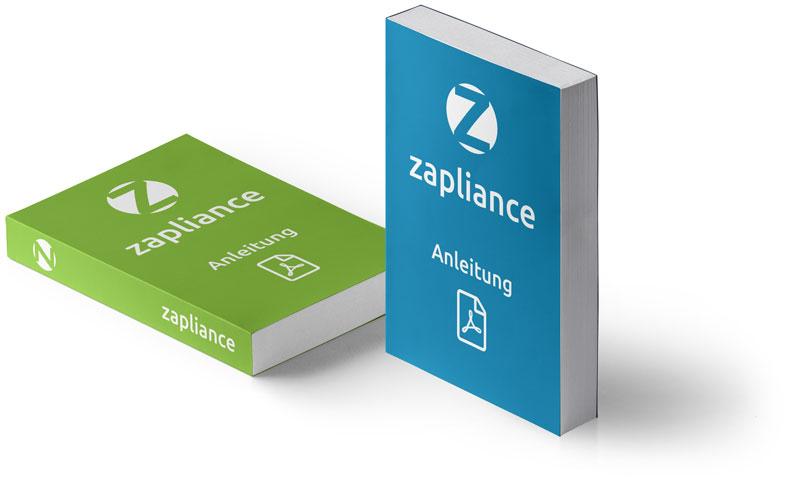 Anleitungen für zapliance