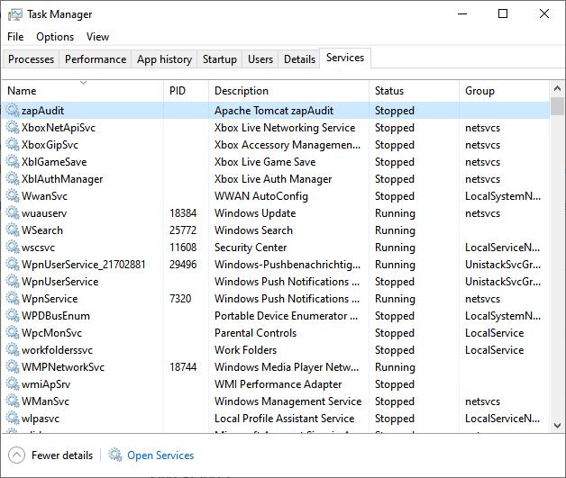 WindowsService
