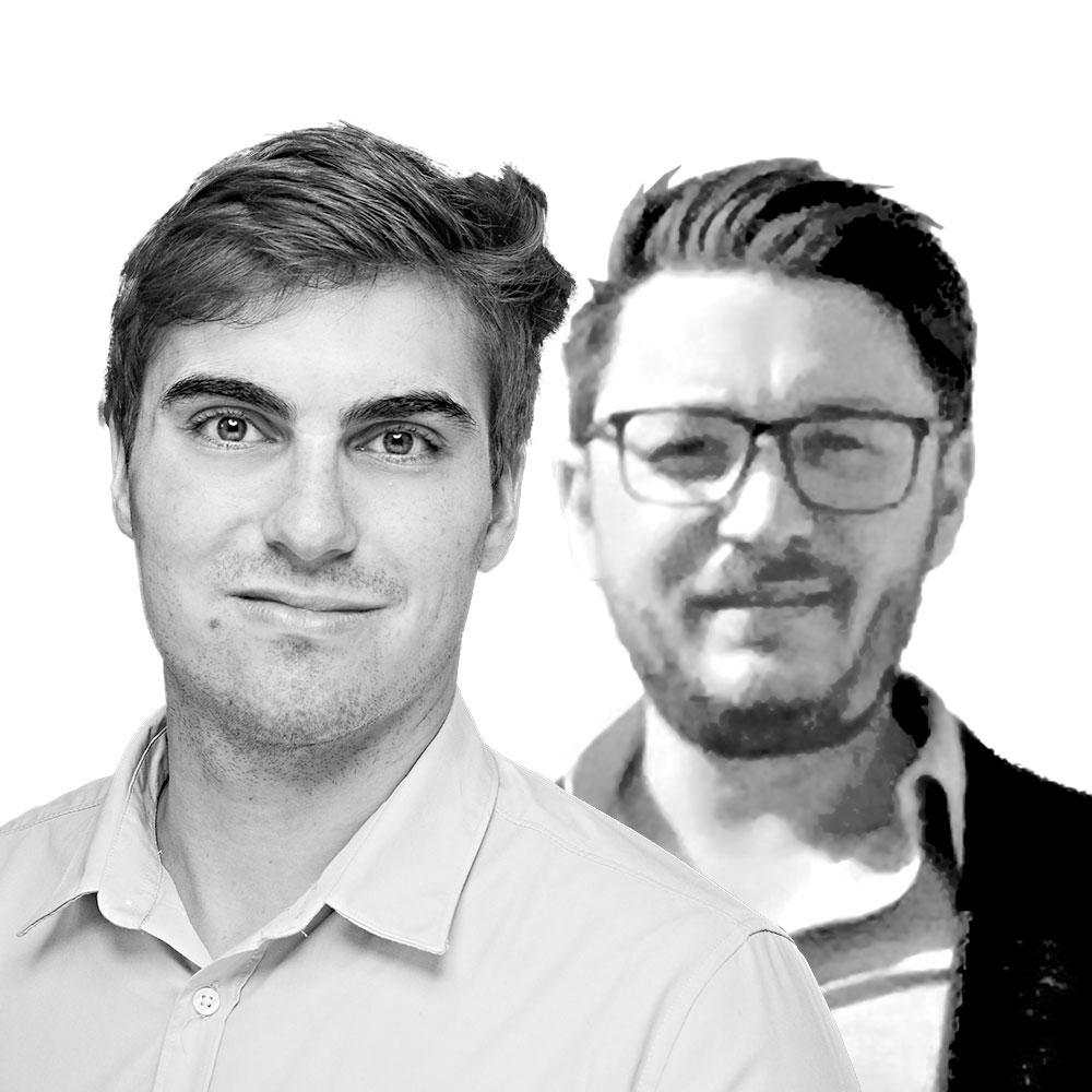 Johannes Ipsen und Jan Schnedler