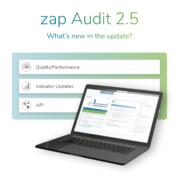 What's new in the update zap audit 2.5.00